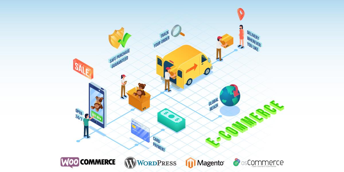 امکانات فروشگاه اینترنتی