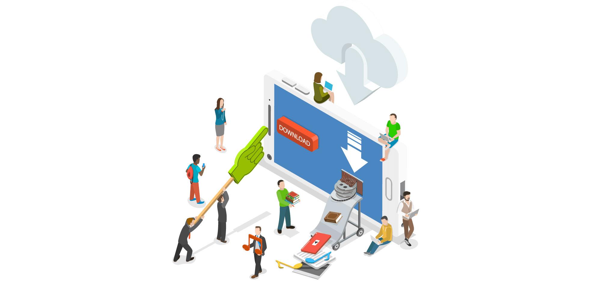 فروش آنلاین کالای دیجیتال